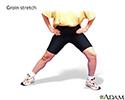 Groin stretch