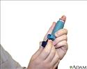 Metered dose inhaler use - Series - step one